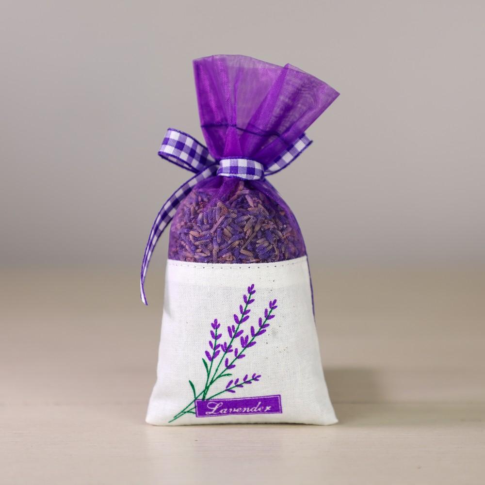 lavender sachet - back