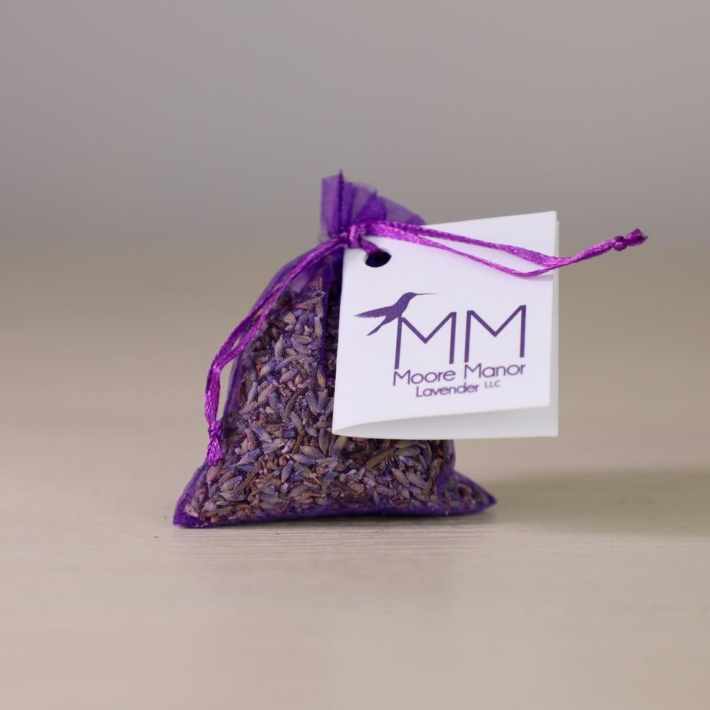 Organza lavender sachet