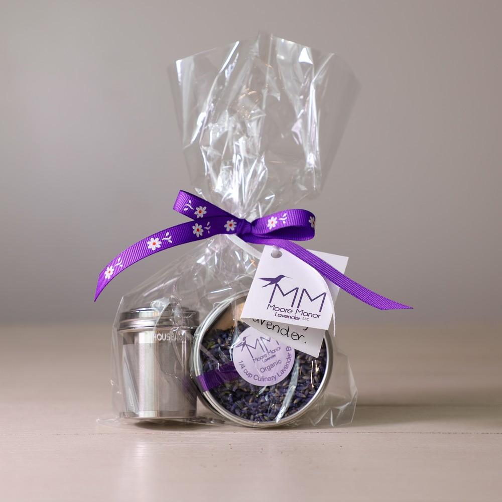 tea infuser, culinary lavender
