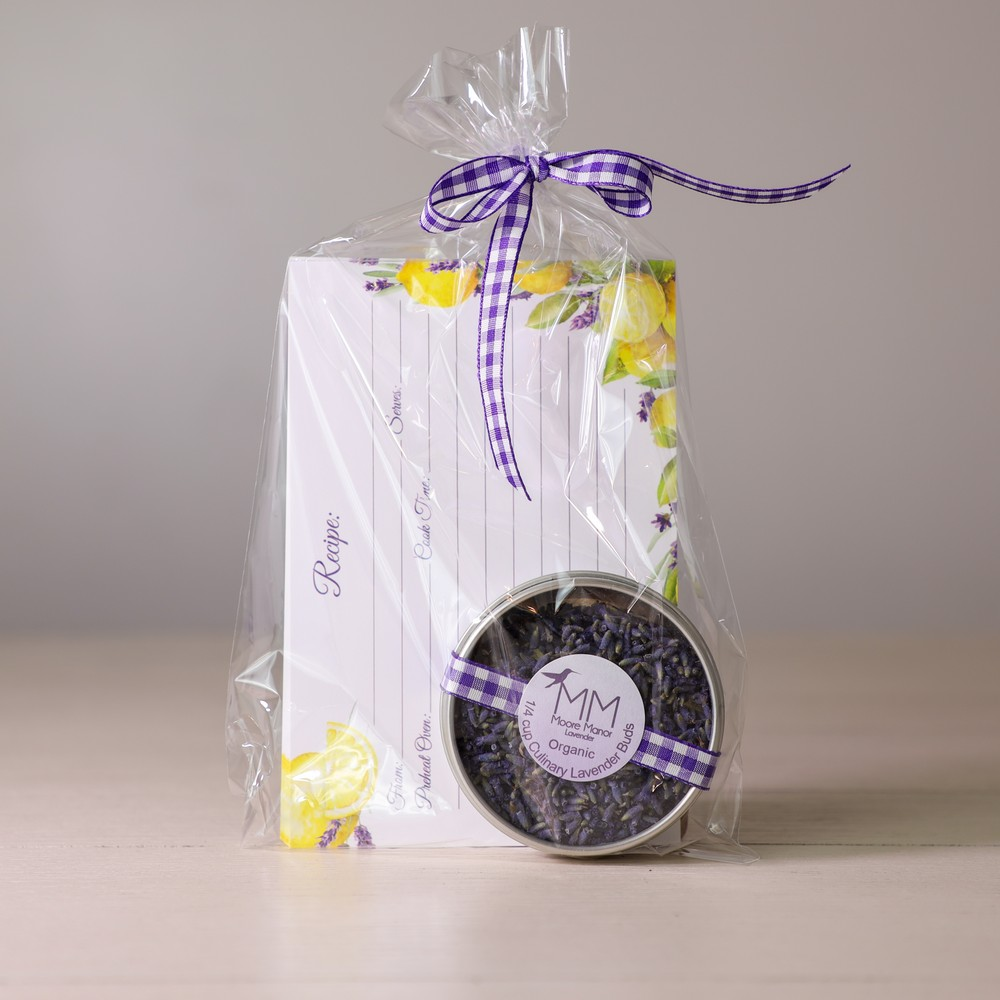 recipe cards & culinary lavender