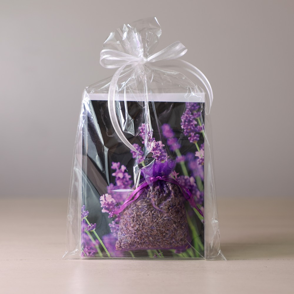 lavender sachet & notecards