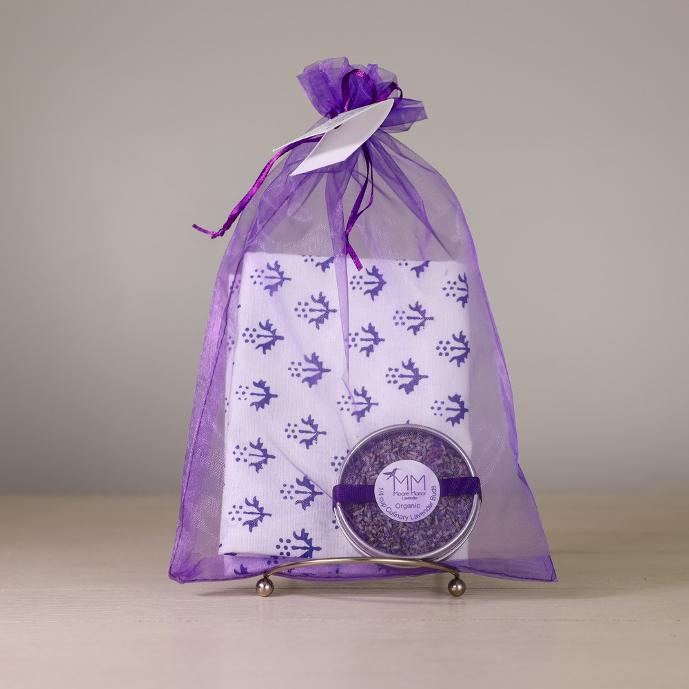tea towel & culinary lavender
