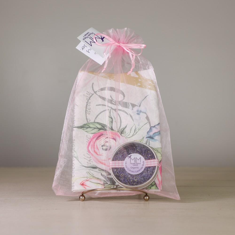 tea towel & culinary lavender