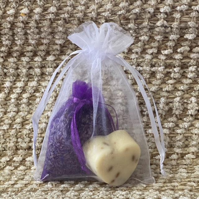 lavender soap & sachet